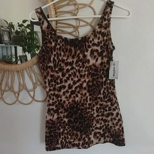 BKE Tops - Buckle BKE Cheetah Tank Top NWT